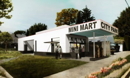 Mini Mart City Park—transformation of gas station into public park and cultural center