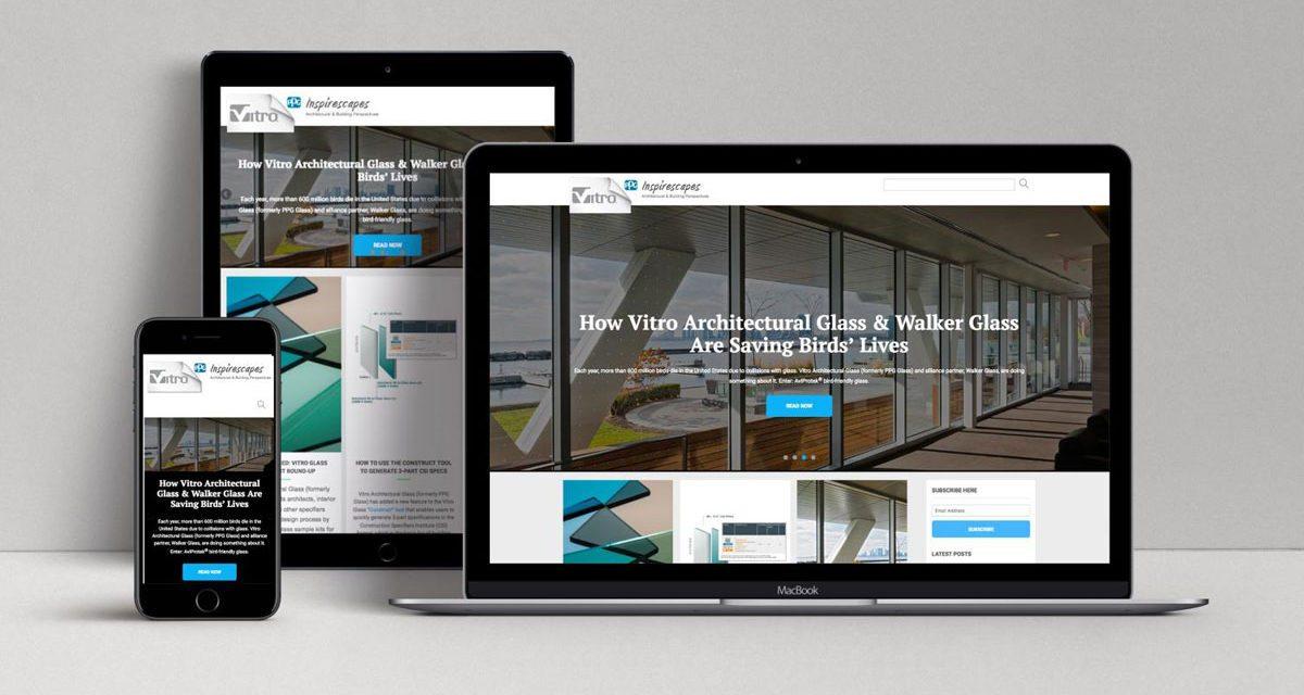 Vitro Architectural Glass Launches Vitro Inspirescapes