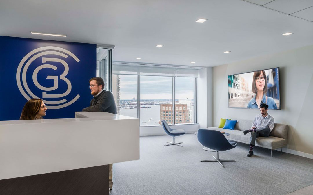 Margulies Perruzzi Architects completes office design for the Greater Boston Chamber of Commerce