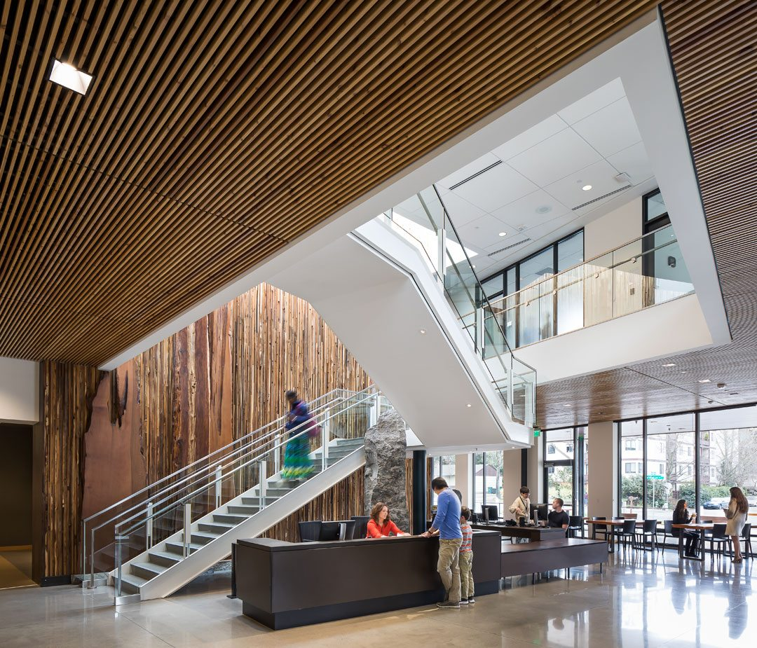 Neighborcare Health, Meridian Center for Health; Seattle. Photo: NBBJ/Sean Airhart