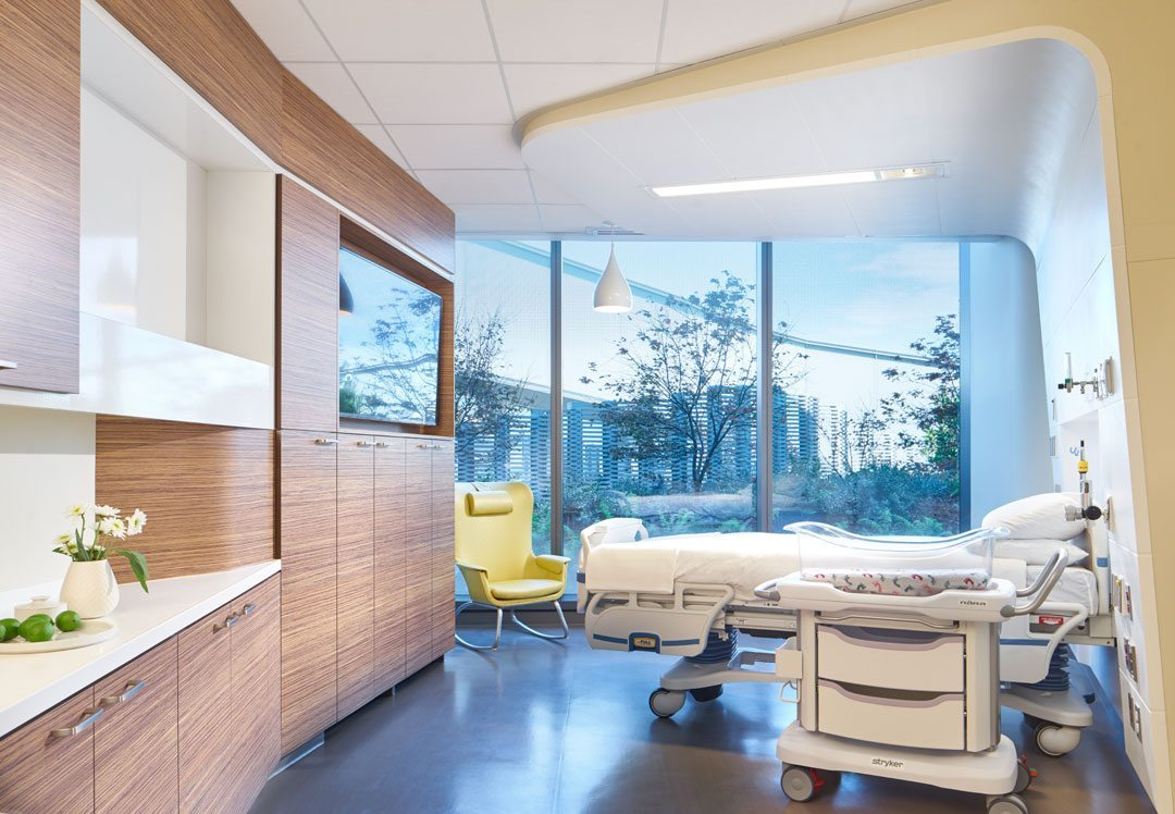 UC San Diego Jacobs Medical Center; La Jolla, California. Cannon Design. Photo: Christopher Barrett