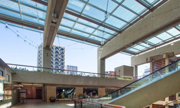 Royal Hawaiian Center features new Super Sky skylights with finishing by Linetec