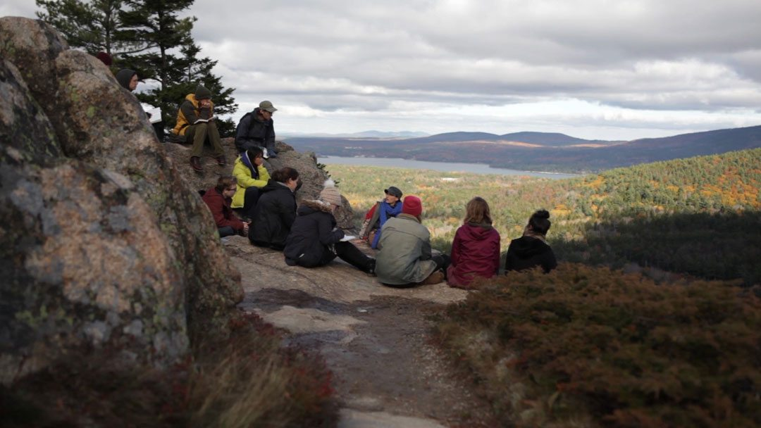 Acadia National Park is an important platform for teaching, learning, and research at College of the Atlantic. Photo credit: College of the Atlantic