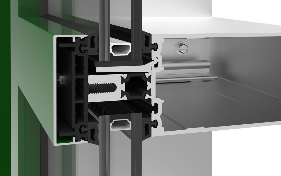 Technoform Bautec announces low-conductivity pressure plate options to increase curtain walls' thermal performance