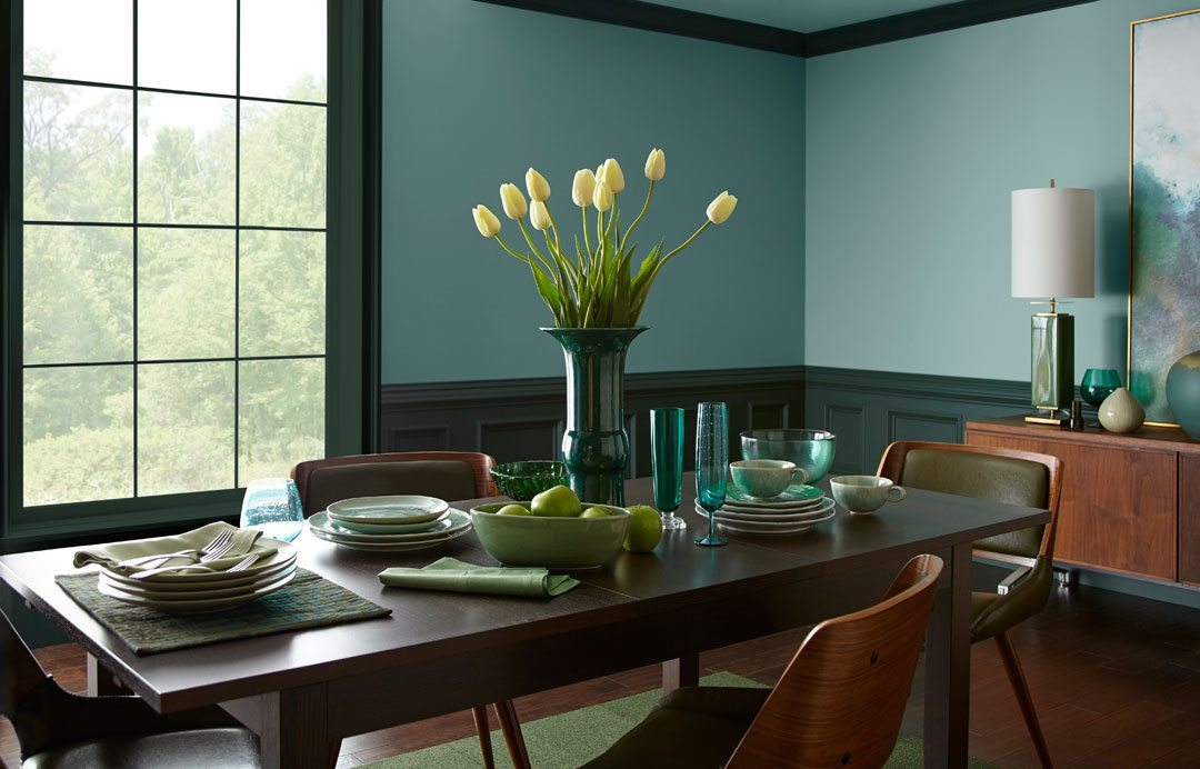 Behr paint reveals 2018 color of the year in the moment - Behr color of the year ...