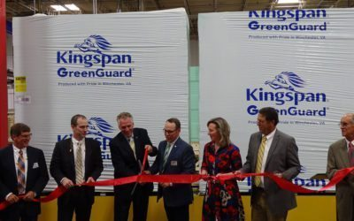 Kingspan Insulation hosts Ribbon Cutting Ceremony to celebrate new XPS insulation line