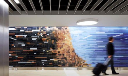 Chicago O'Hare Airport's Terminal 5 expansion features Starphire Ultra-Clear glass by Vitro Architectural Glass