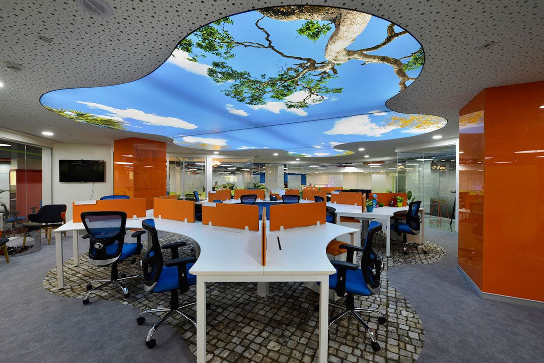 Office Design Winner: GLOBANT, Pune, India. Design Practice: Beyond Design Architects.