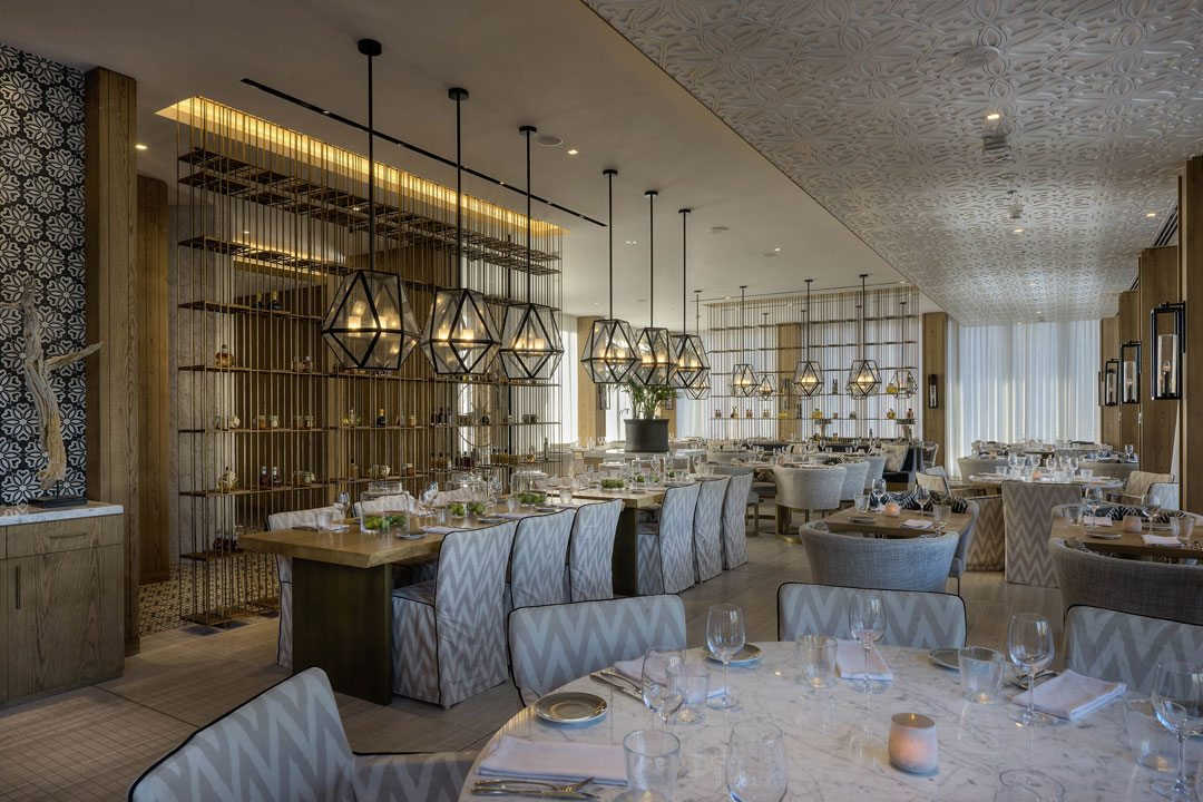 Restaurant Design Winner: Bussola Restaurant, Dubai, United Arab Emirates. Design Practice: LW Bussola.