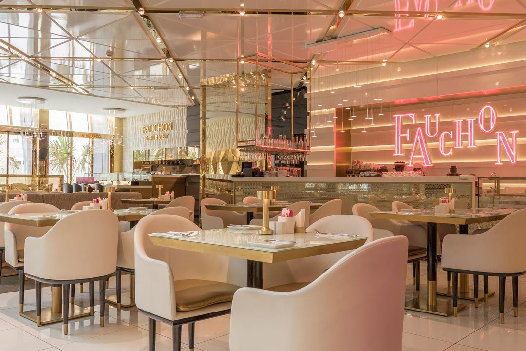 Retail Design Winner: Fauchon Paris Cafe & Retail, Kuwait City, Kuwait. Design Practice: Bishop Design.