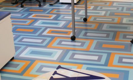 ChromaLuxe unveils new sublimatable, durable flooring décor product