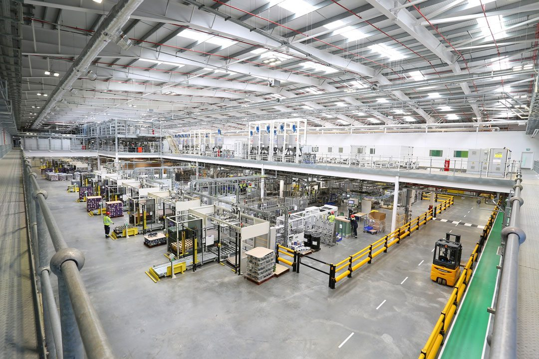 The Ashington plant uses the most technologically advanced and automated manufacturing processes. Photo courtesy of AkzoNobel