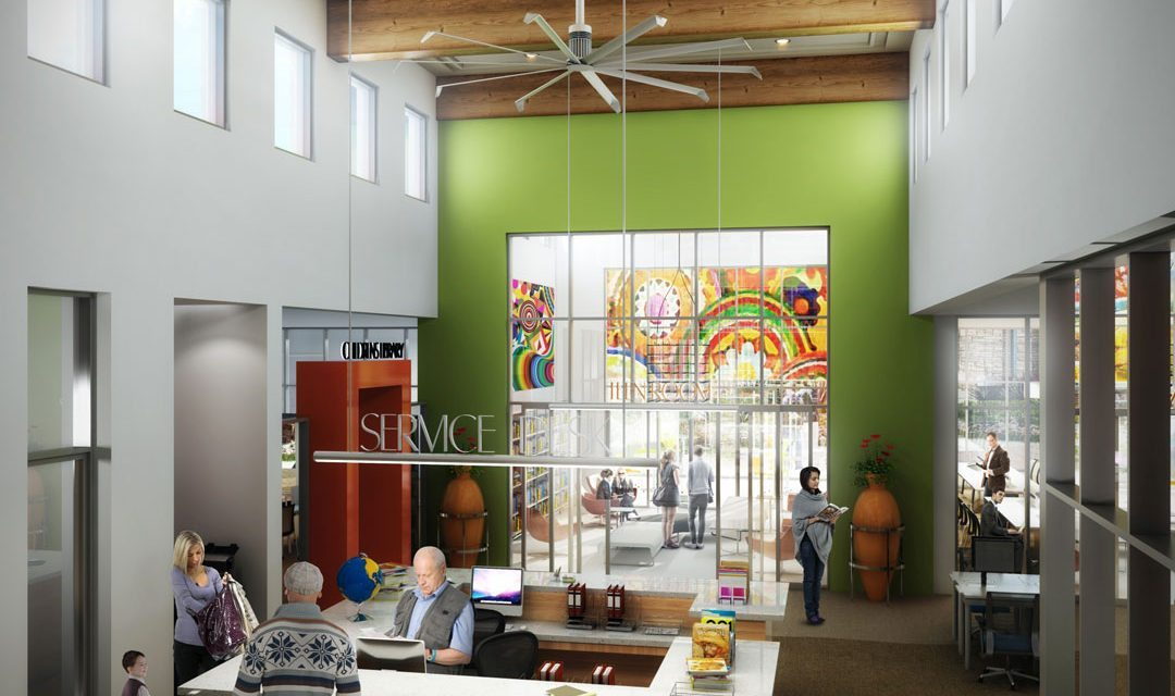 San Ysidro Public Library design announced by Turner Construction Company and SVA Architects