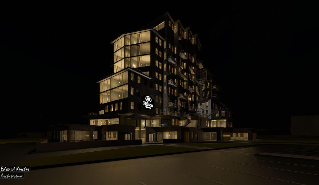 The Gateway Hotel Design Project, Edward Kercher, Southampton Solent University