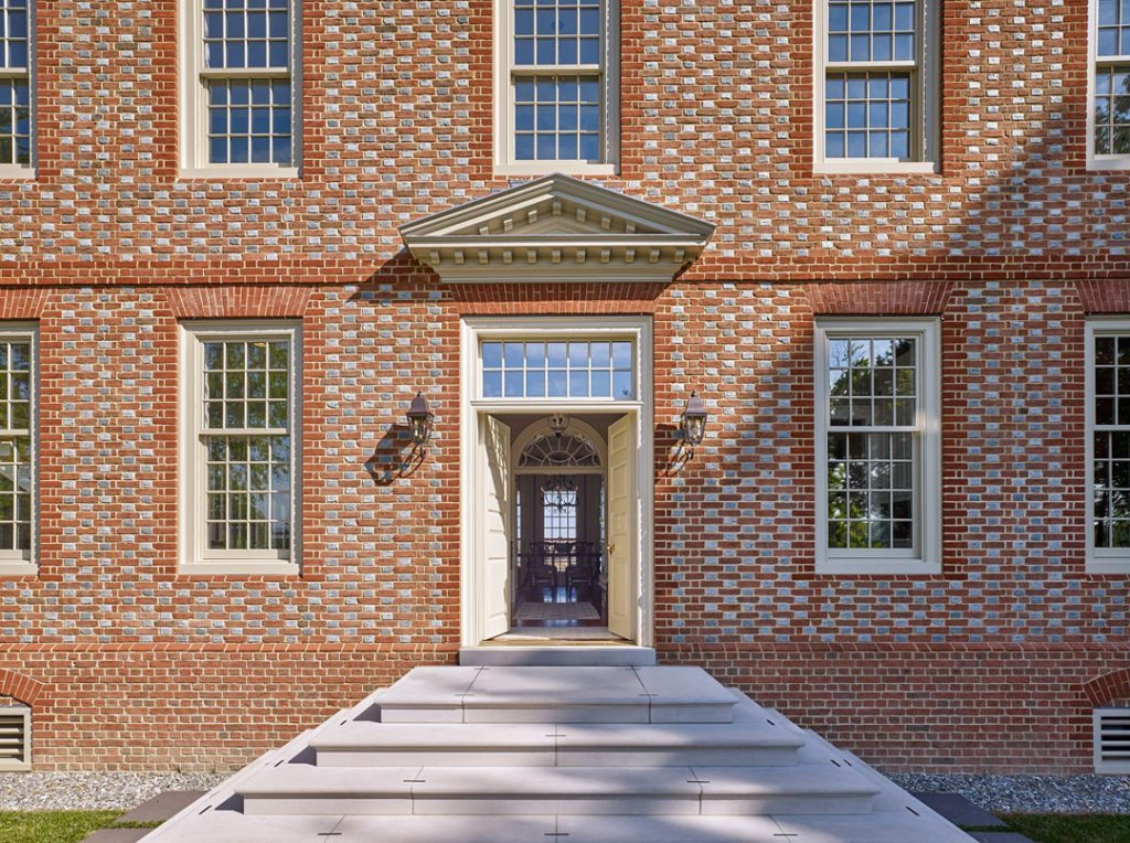 Brick in Architecture Award (Residential – Single Family) Best in Class winner: Kinsley – Oxford, Md. Project team: John Milner Architects Inc. Photographer: Don Pearse Photographers Inc.