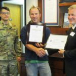 Linetec's Tom Danen honored with Patriot Award