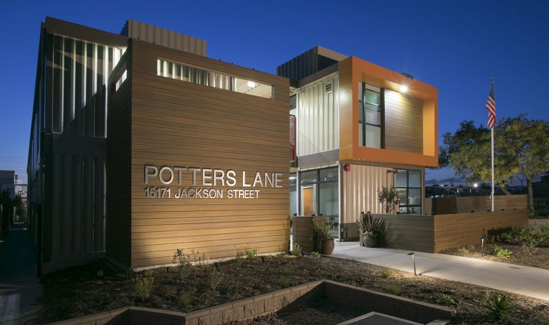 "AIA Orange County Awards SVA Architects ""2017 Merit"" for Potter's Lane"