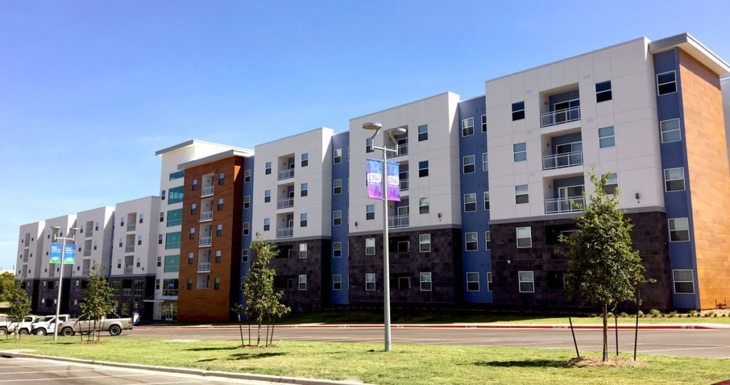 TAMU Park West C Building. Photo: The Weitz Company