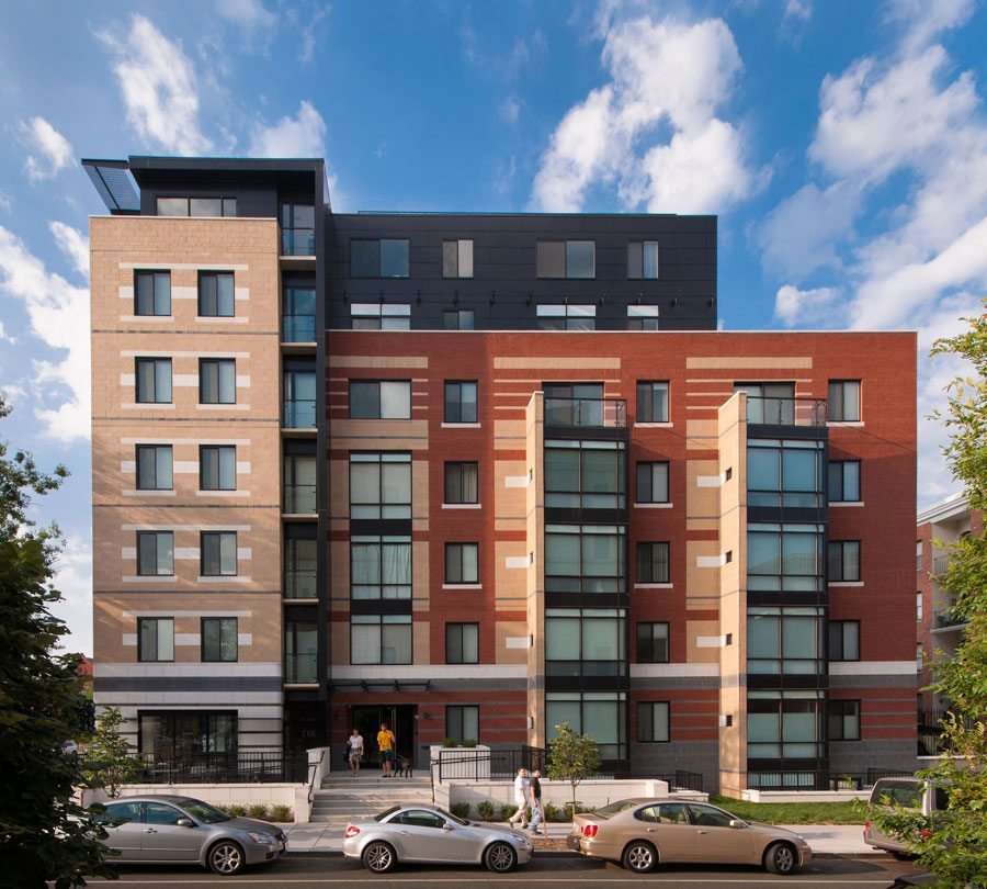 Brick in Architecture Award (Residential – Multifamily) Best in Class winner: The Aston, Washington, D.C. Bonstra | Haresign ARCHITECTS. Photographer: Maxwell Mackenzie