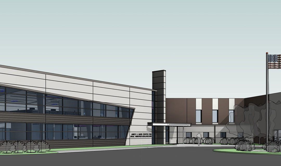 Bard Manufacturing Company builds HVAC Innovation and Design Center