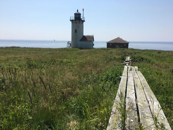 Photo: College of the Atlantic's Great Duck Island, a research station for exploring the human ecology of Maine's coastal islands. Photo credit: Darron Collins