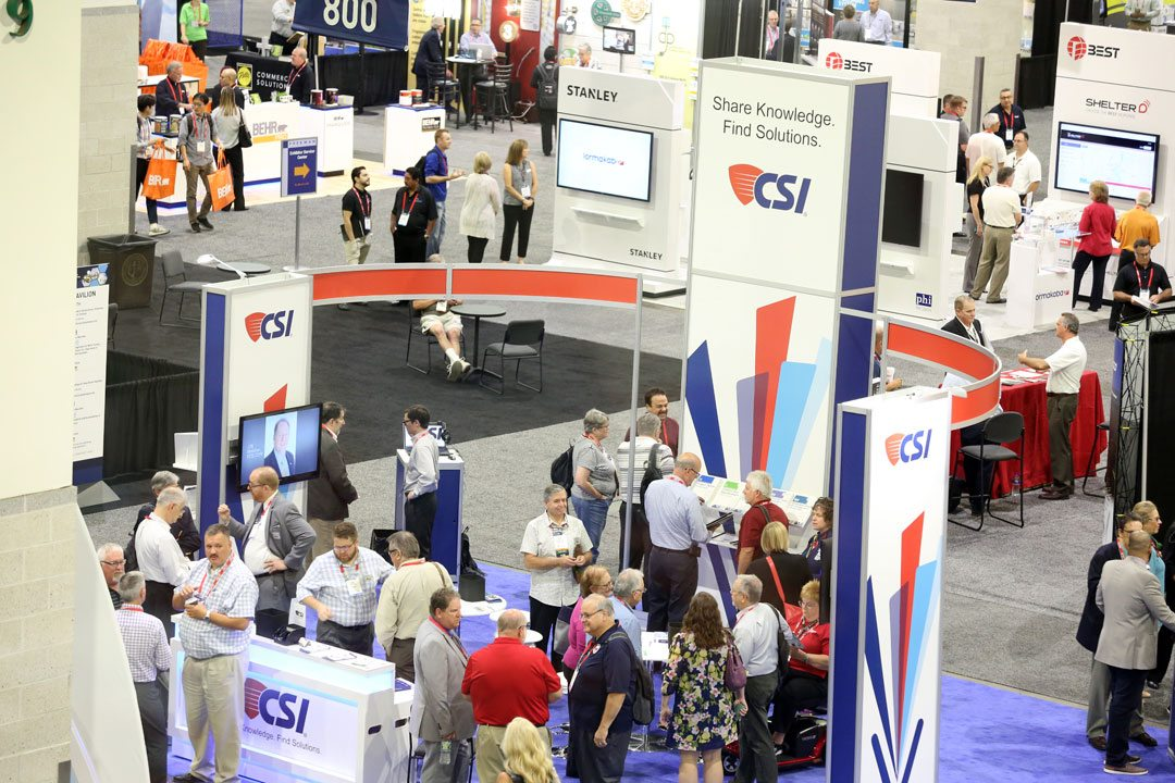 Energy and Excitement filled the Rhode Island Convention Center for CONSTRUCT 2017