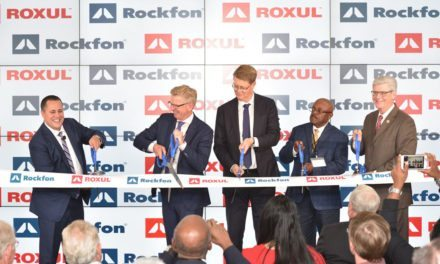 Rockfon factory in Marshall County, Mississippi officially inaugurated