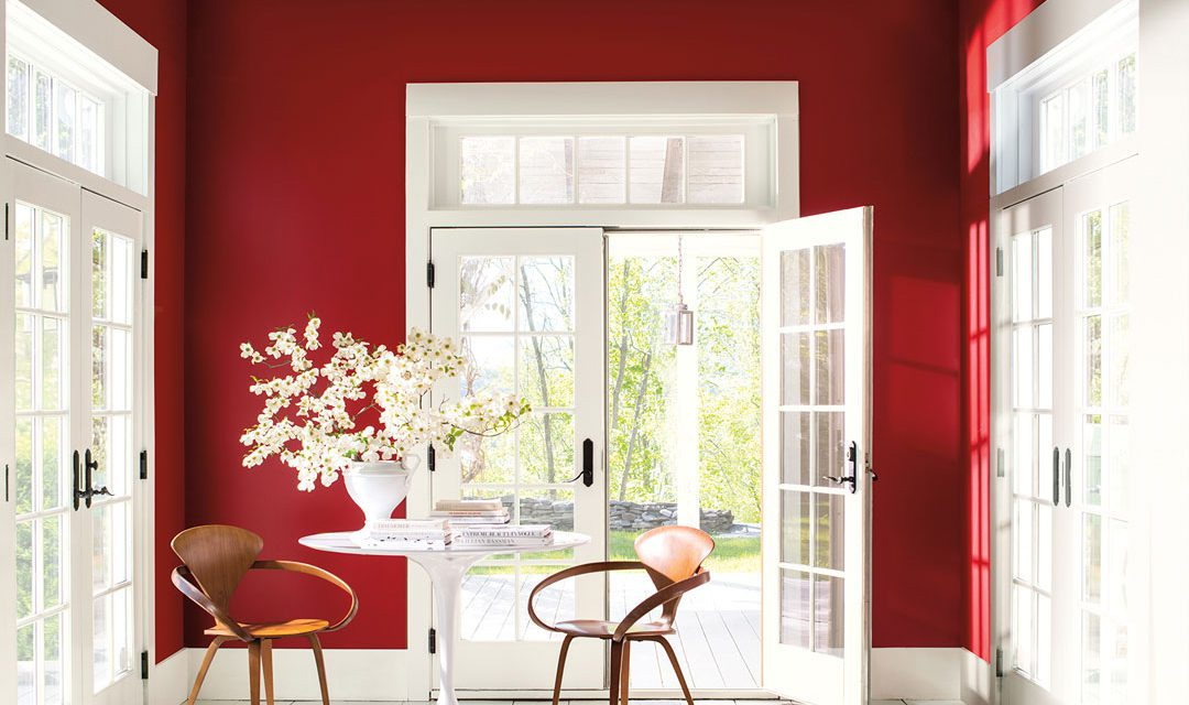 Benjamin Moore Reveals Caliente AF 290 As Its Color Of The Year 2018
