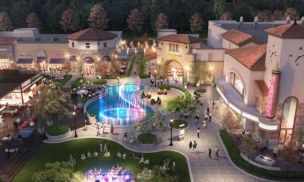 OTL's vibrant water feature to serve as central showpiece for new Silicon Valley retail development