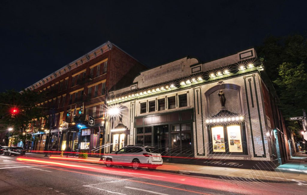The 1913 Woodward Theater in Over-the-Rhine. Cincinnati, Ohio. Courtesy of the National Trust for Historic Preservation