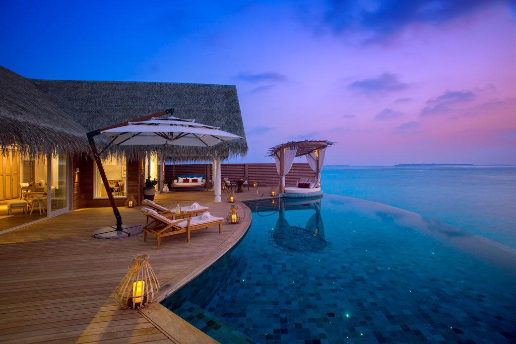 Milaidhoo Maldives Ocean Residence deck. Credit: Milaidhoo Island Resort