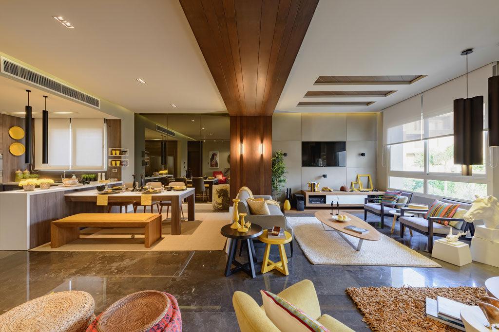 Residential Apartment Under £1M - DAR Designs - Parkview Residence. Credit: Nour El Refai