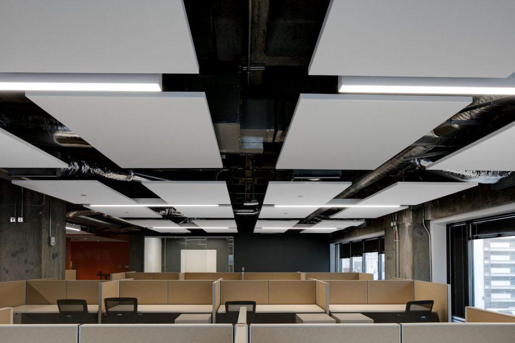 Rockfon S Ceiling Systems Enhance Acoustics And Aesthetics