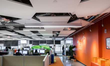 Rockfon's ceiling systems enhance acoustics and aesthetics for Solar Spectrum's office design