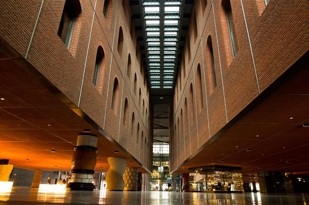 Atrium at Azkuna Zentroa,Bilbao, Bizkaia, Basque Country, Spain Credit: Maite Arberas