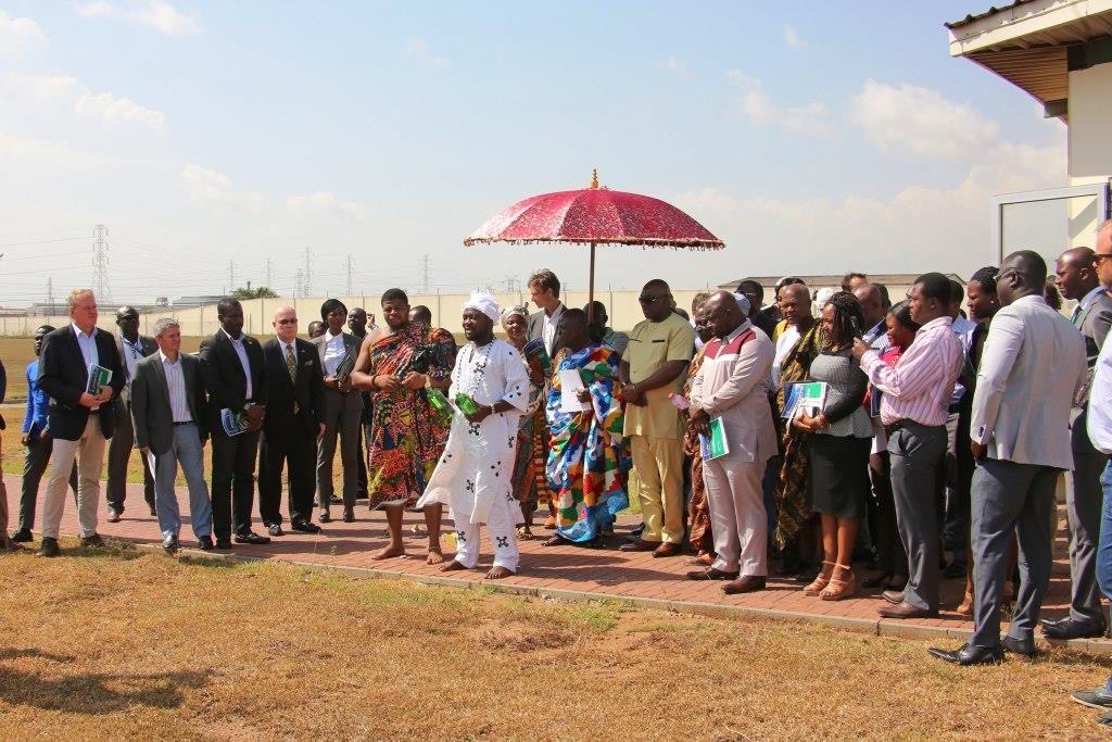 Cargill Cocoa & Chocolate - Solar facility Tema, Ghana.