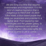 Pantone Unveils Color of the Year 2018: PANTONE® 18-3838 Ultra Violet
