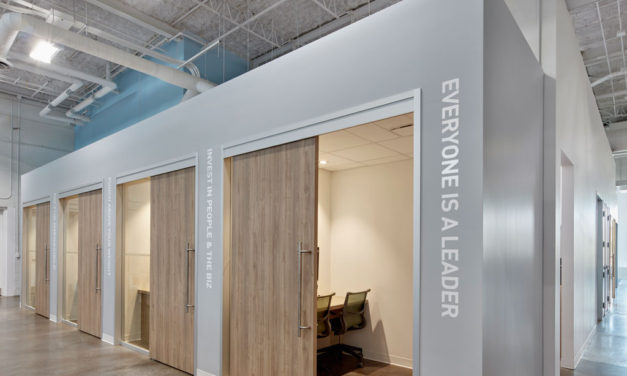 Acoustic Engineering chooses Rockfon ceiling systems