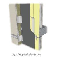 Liquid-applied membrane