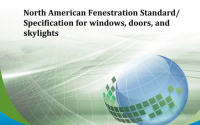 Latest North American Fenestration Standard Published