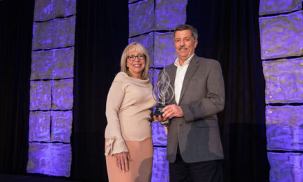 AAMA presented with World Vision's 2017 Crystal Vision Partnership Award during International Builders Show