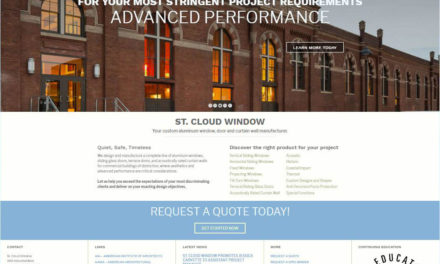 St. Cloud Window Launches Website with Responsive Product Selection