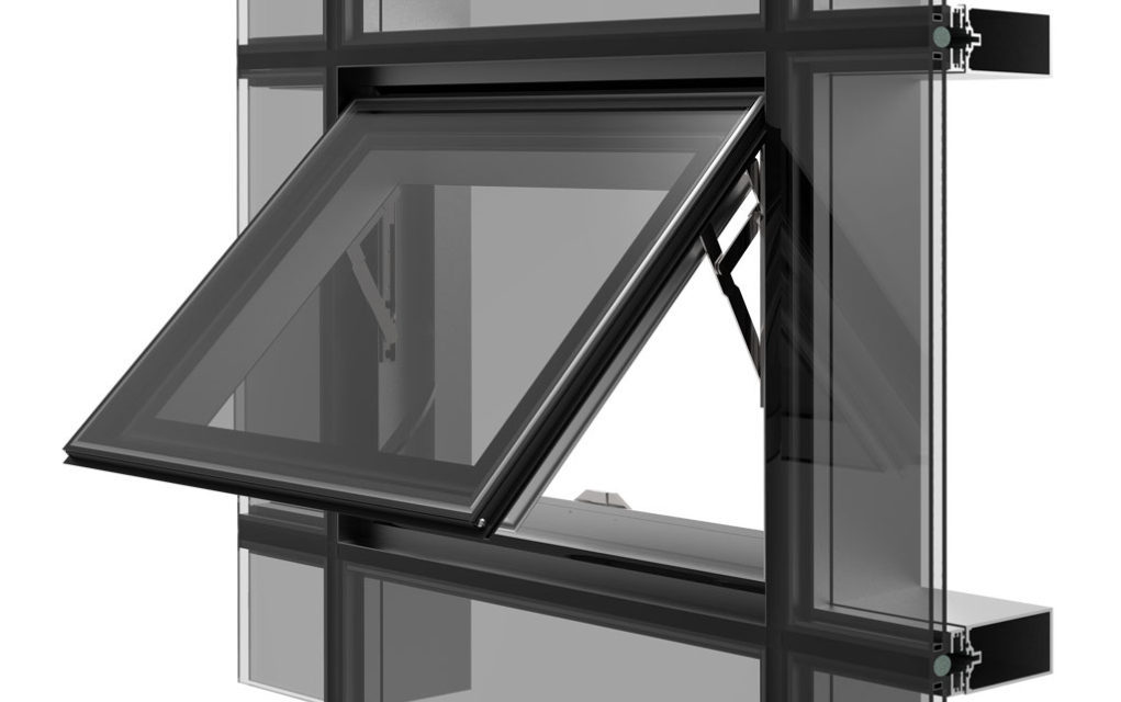 Structurally Glazed Curtain Wall : Ykk ap launches zero sightline window for structural