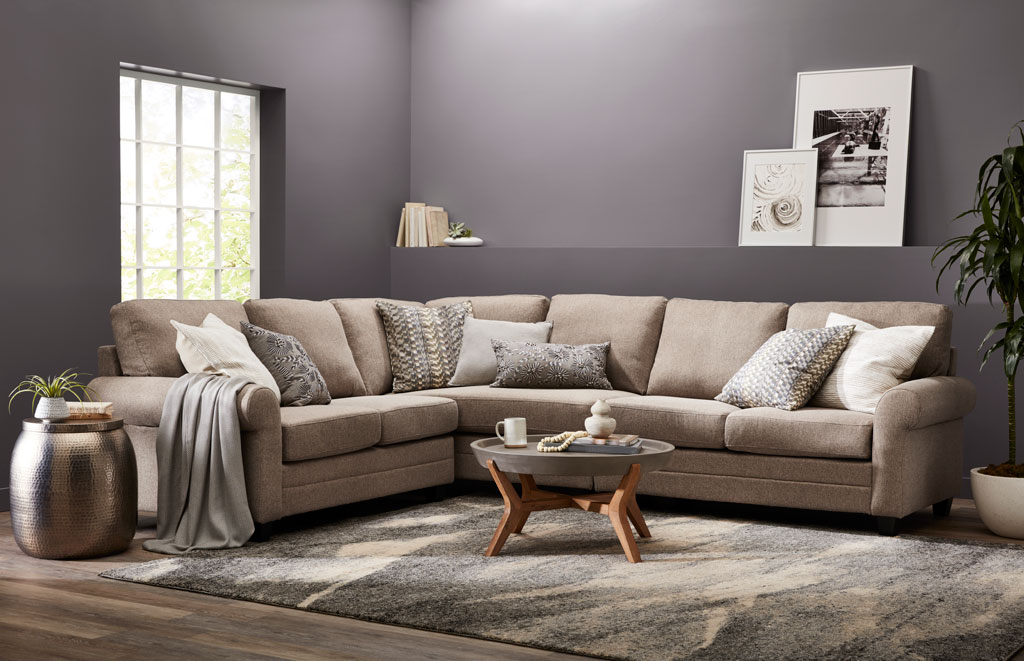 """This pretty, calming gray wraps you in its warm embrace with a touch of interesting but neutral violet."" - Sue Kim, Valspar Sr. Color Designer"