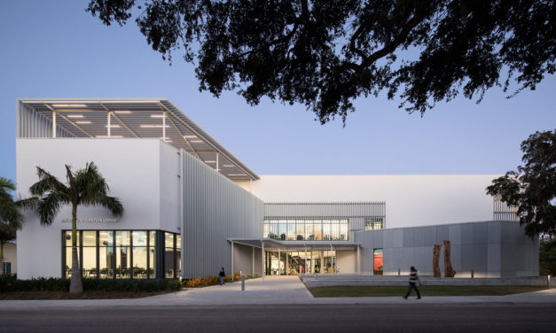 Shepley Bulfinch Unveils Iconic Library at Ringling College of Art and Design