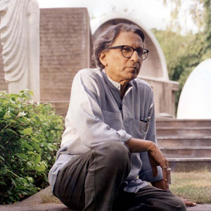 Balkrishna Doshi Photo courtesy of VSF. Courtesy of the Pritzker Architecture Prize