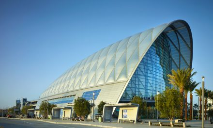 Anaheim Regional Transportation Intermodal Center Presents  Paragon of Sustainability Focused Building for the Transportation Industry