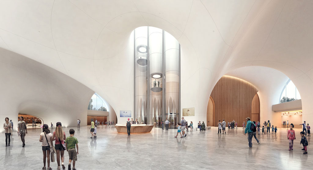 Lucas Museum of Narrative Art. Courtesy of MAD Architects/Lucas Museum of Narrative Art