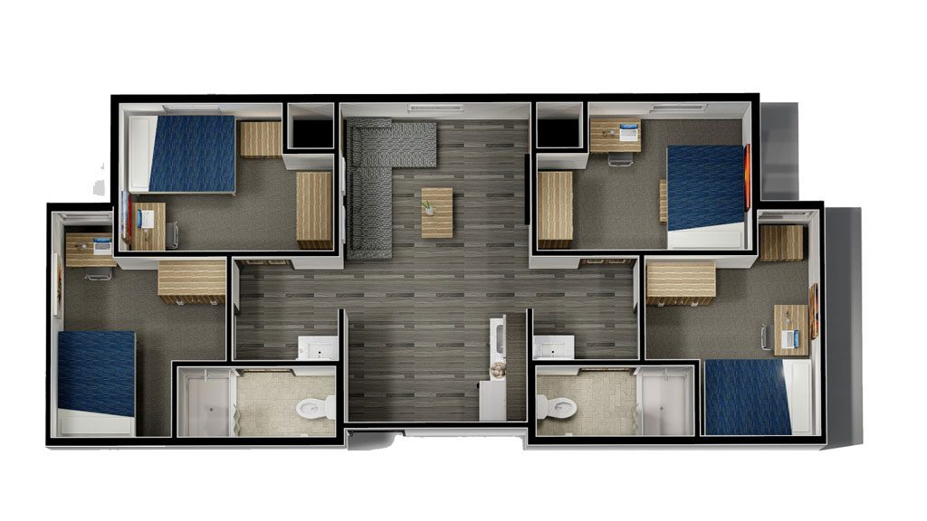 Typical Full-Suite Unit