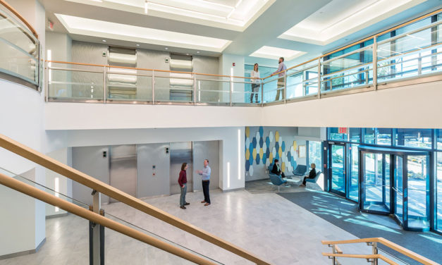 Margulies Perruzzi Architects Revitalizes Framingham Office Building for National Development